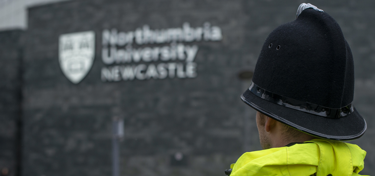 Image of Police Constable - head and shoulder shot - on patrol
