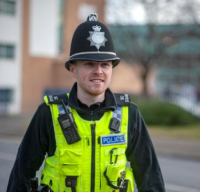 Special Constable on patrol